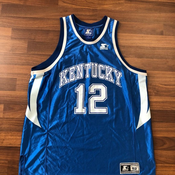 reputable site 45364 c6223 Men's vintage Kentucky wildcats starter jersey